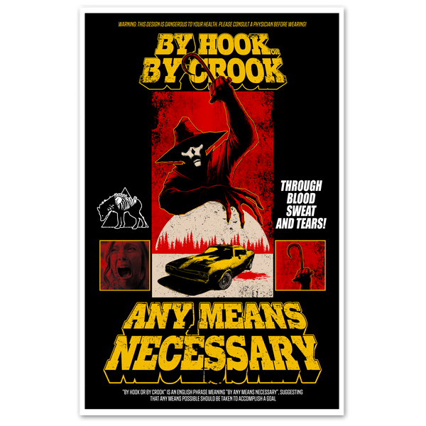 By Hook or By Crook Print