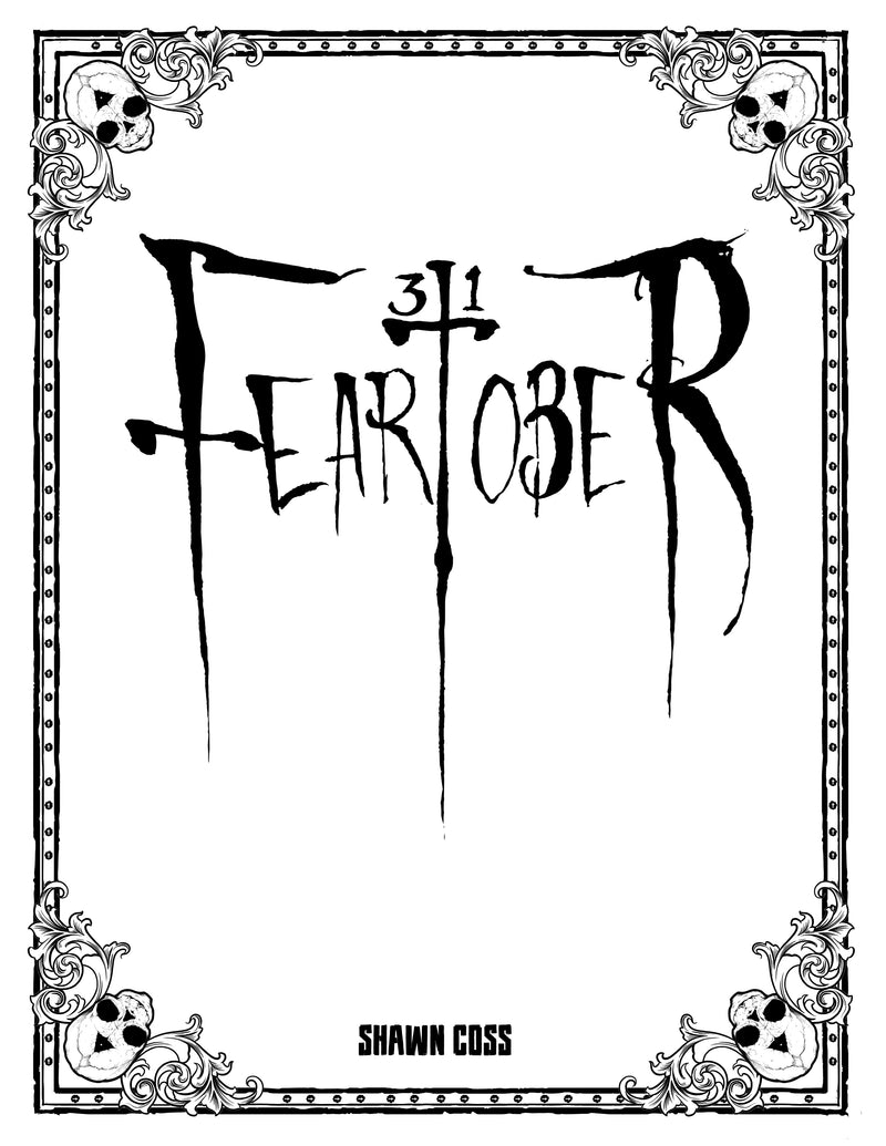 any means necessary feartober inktober poster print