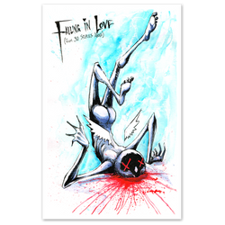 any means necessary shawn coss falling in love from 30 stories above 11x17 print