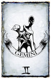 any means necessary zodiac sign poster print gemini
