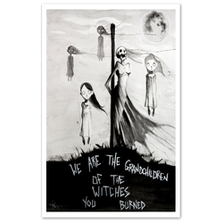any means necessary shawn coss we are the grandchildren of the witches you burned print