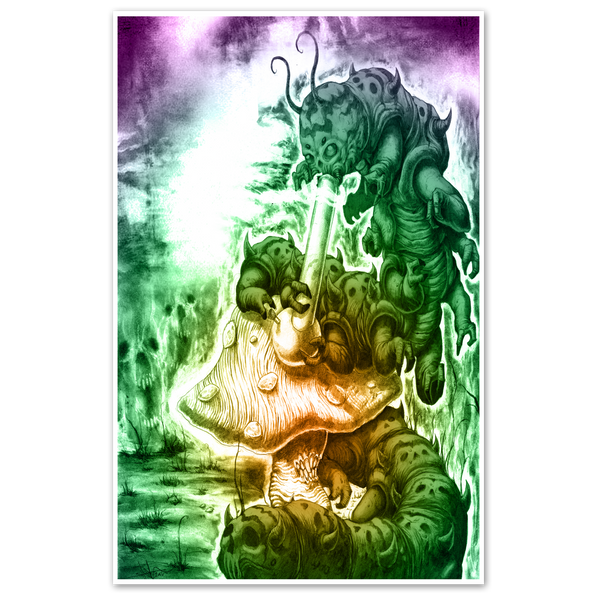 Hello Alice 11x17 Any Means Necessary Shawn Coss Poster