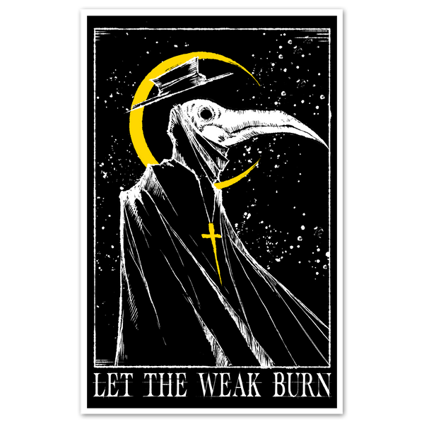 any means necessary shawn coss let the weak burn print