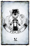 any means necessary zodiac sign poster print pisces