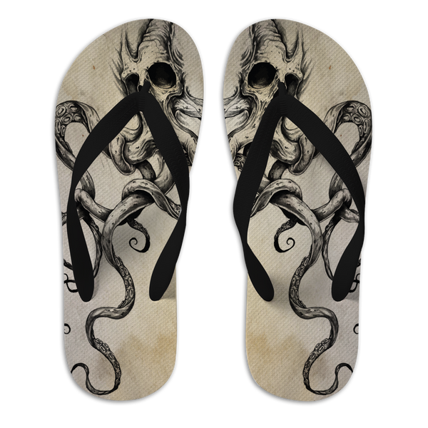 any means necessary shawn coss skulltapus flip flops