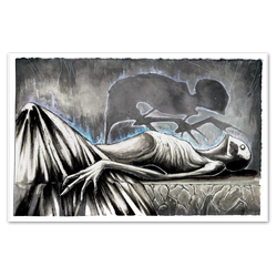 any means necessary shawn coss sleep paralysis 11x17 poster print