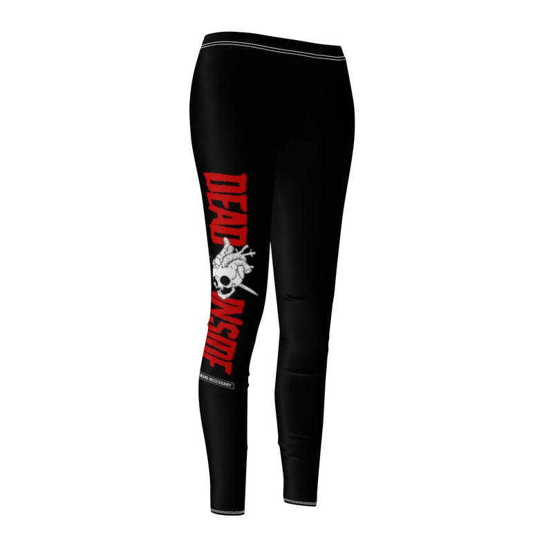 Dead Inside Leggings Black