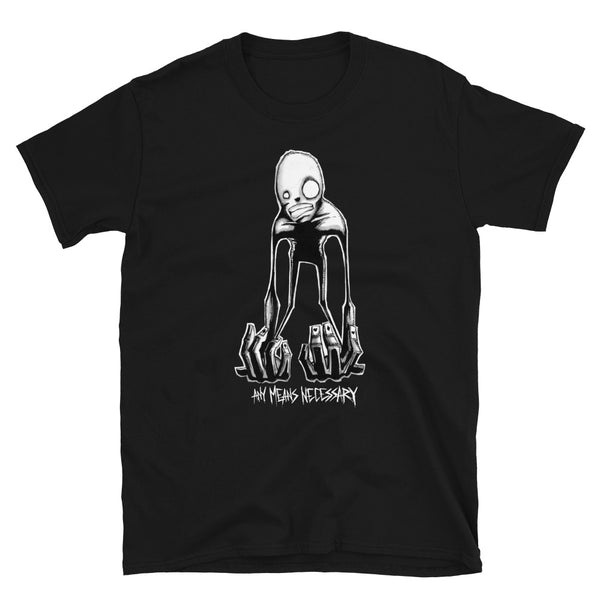 any means necessary shawn coss inktober illness alice in wonderland syndrome t shirt black