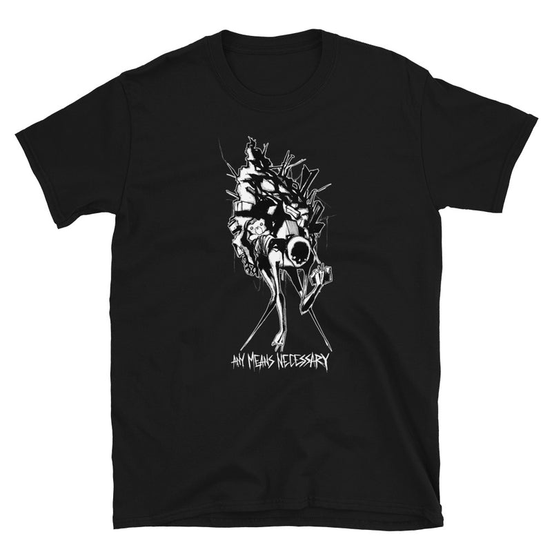 any means necessary shawn coss inktober illness hoarding personality disorder t shirt black