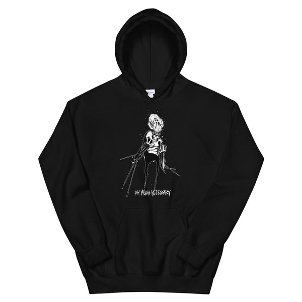 any means necessary shawn coss inktober illness anxiety disorder pullover hoodie black