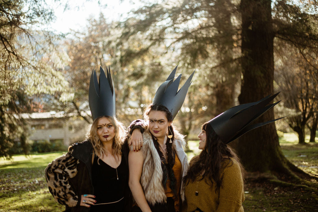 Witches of Juneau, Alaska. A Halloween Photoshoot by Resolute Boutique