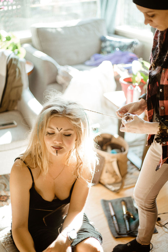 Behind the Scenes of our Annual Witch Shoot in Juneau, Alaska by Resolute Boutique