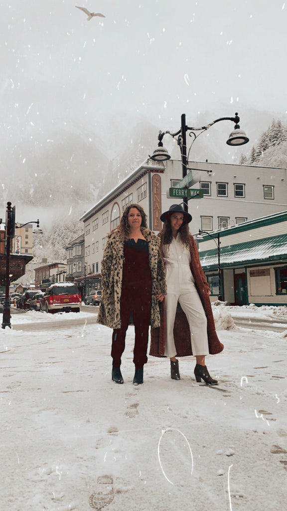 Resolute Boutique storming the downtown Juneau, Alaska streets