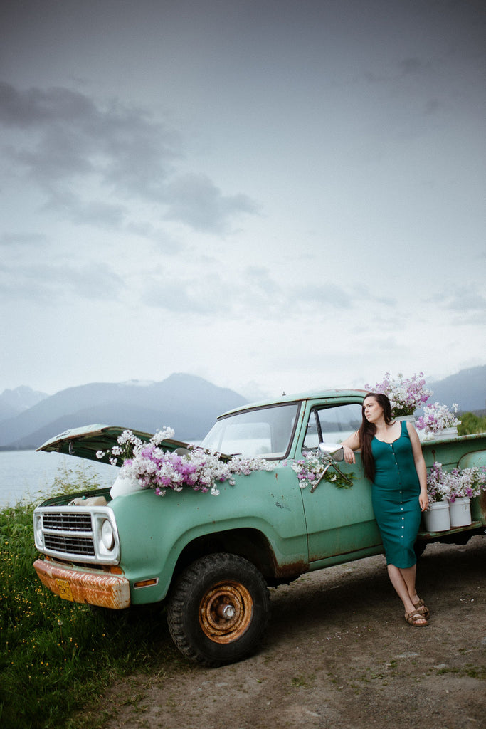 Old trucks in Alaska by Resolute Boutique