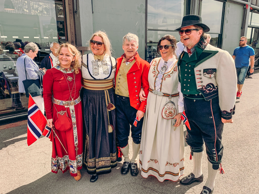 Bunads and Traditional Dress for the 17th of May in Norway