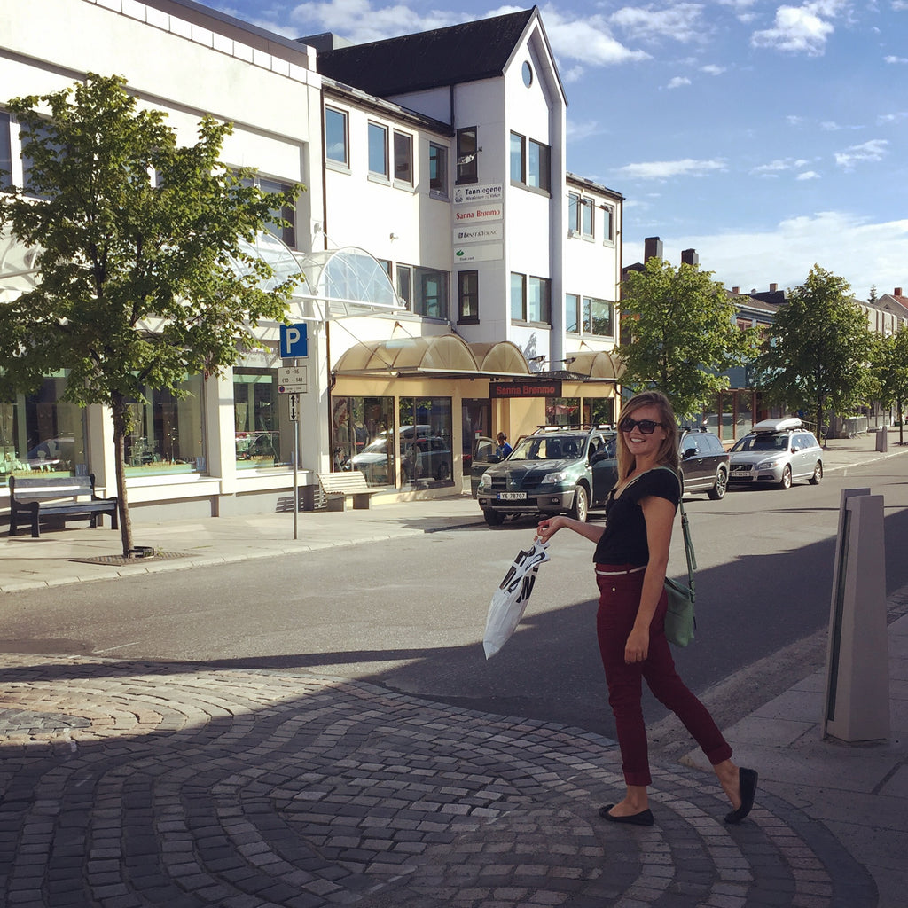 Shopping in Bronnøysund, Norway. Cruising up the coast of Norway part 3 for Resolute Boutique