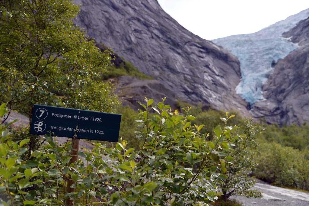 Briksdal Glacier, in Olden, Norway a cruise up the coast part 1 of 4.