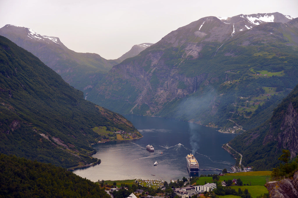 Geiranger, Norway. Cruising up the coast of Norway part 1 for Resolute Boutique