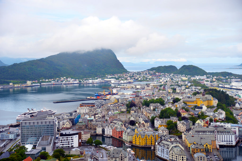 Shopping in Aalesund, Norway. Cruising up the Coast of Norway part 2 for Resolute Boutique