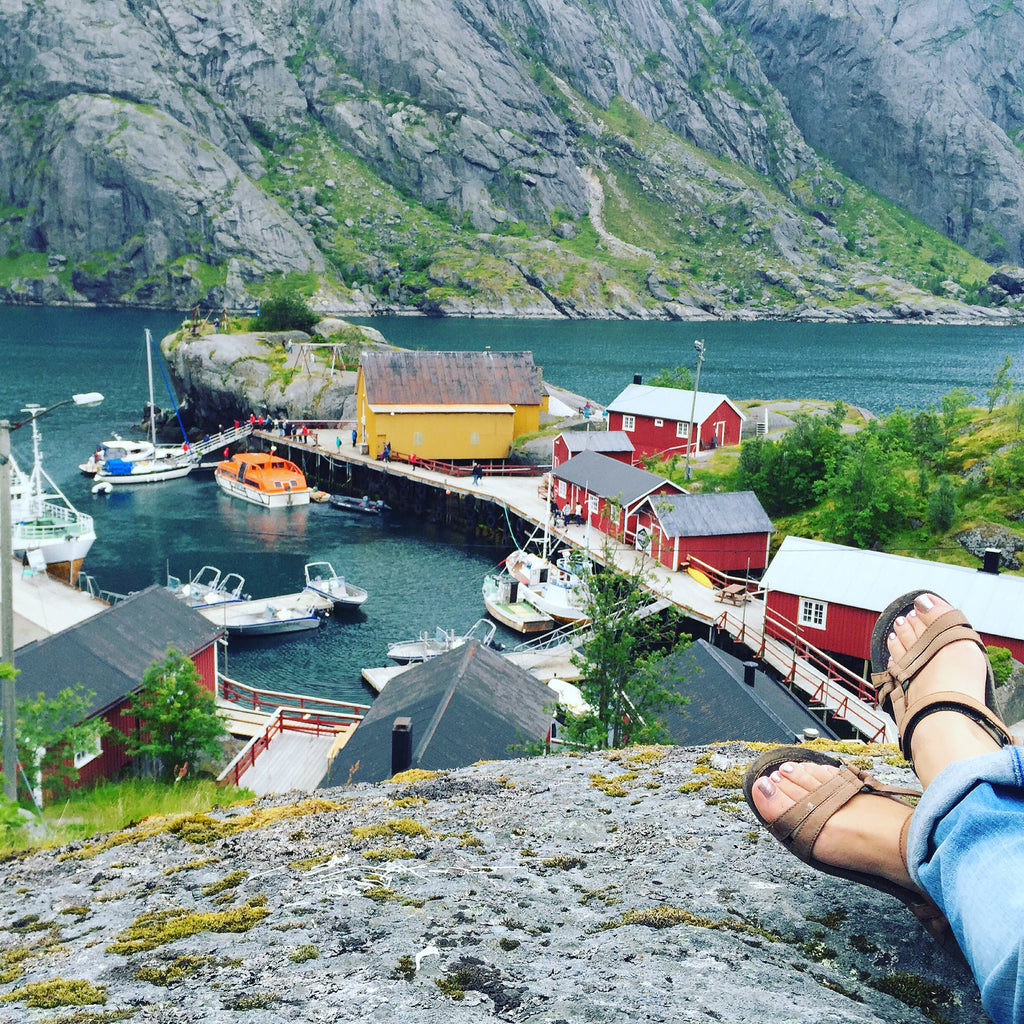 Nusfjord, Lofoten, Norway. Cruising up the coast of Norway part 3 for Resolute Boutique.
