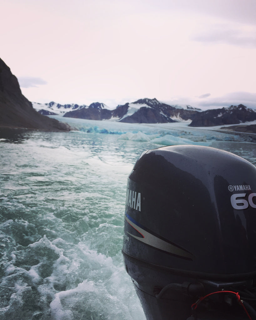 Spitzberg. Cruising up the coast of Norway part 4 for Resolute Boutique.