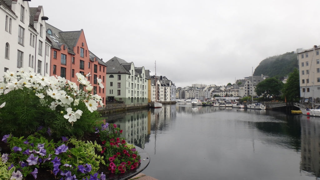 Shopping in Aalesund, Norway. Cruising the coast of Norway part 2 for Resolute Boutique