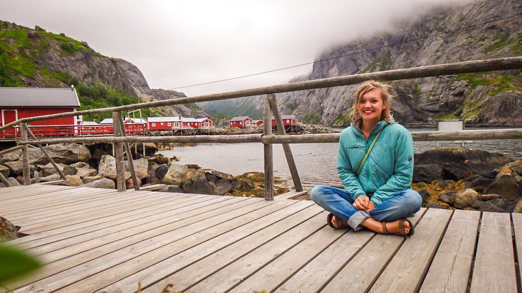 Nusfjord, Lofoten. Cruising up the coast of Norway part 3 for Resolute Boutique.