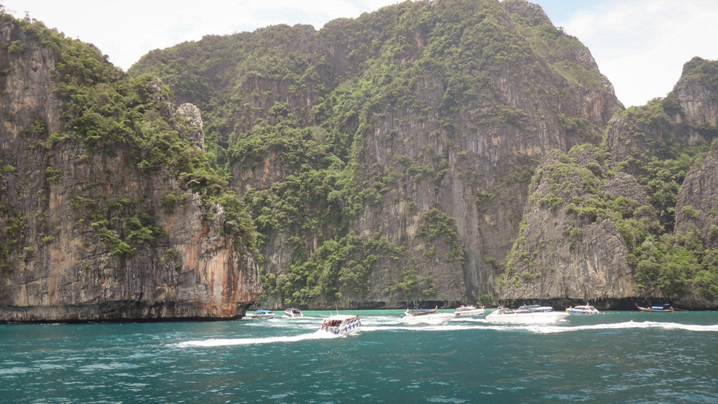 Koh Phi Phi, Free Diving in the Gulf of Thailand