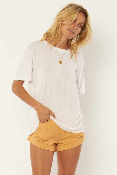Lany Short Sleeve Knit Top