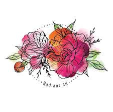 Peony Bloom Sticker