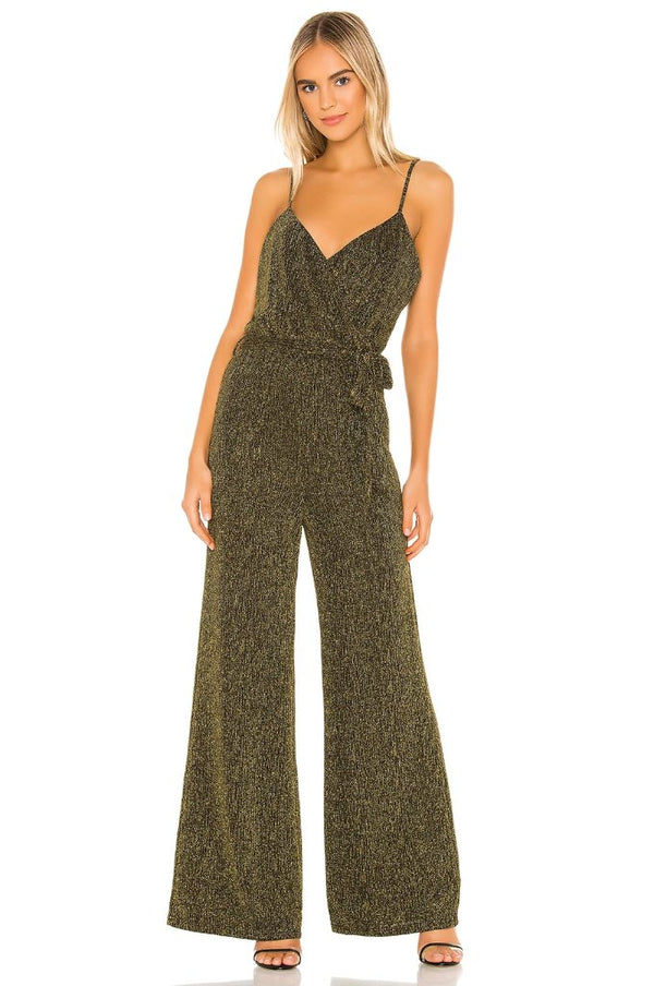 Florence Metallic Jumpsuit
