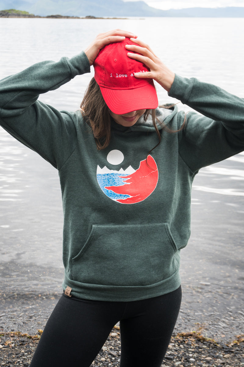 Full Bellied Moon Hoodie