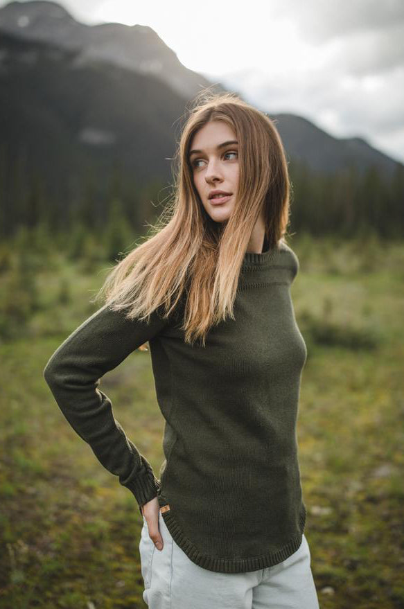 Forever After Sweater in Forest Green