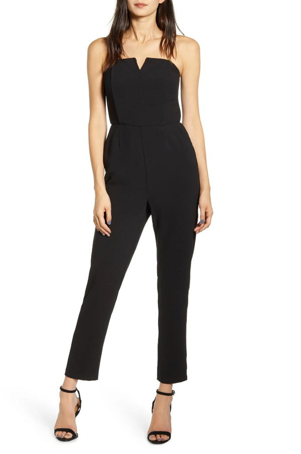 Jessalyn Strapless Jumpsuit