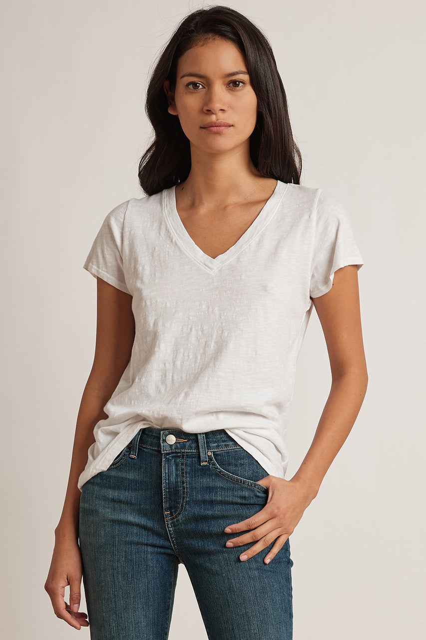 Jillian V Neck Tee