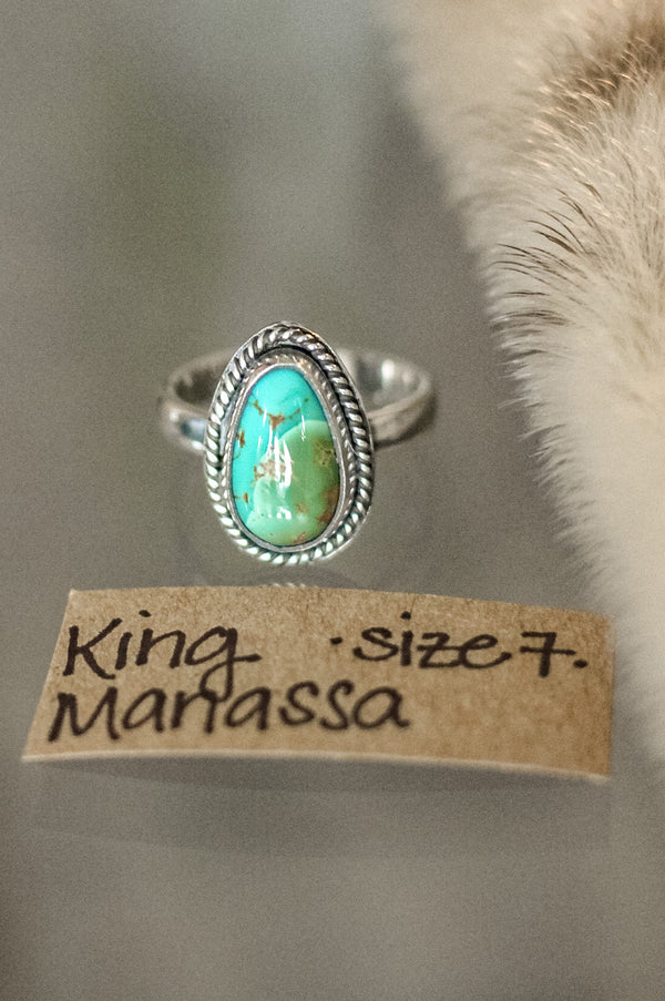 King Manassa Ring