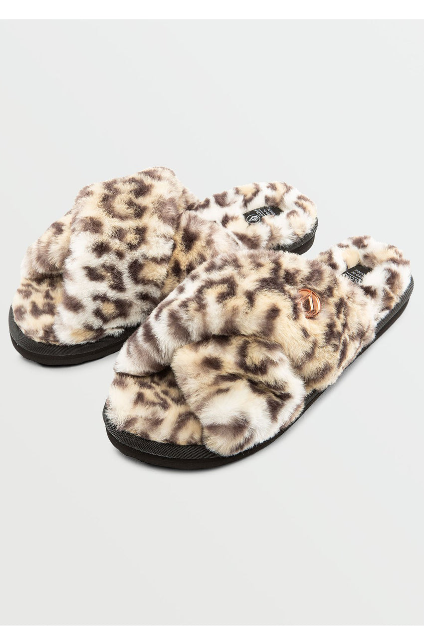 Lived in Lounge Slip Sandal in Cheetah