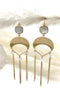 Moonstone Droplet Earring