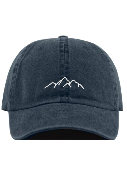 Mountains Ball Cap