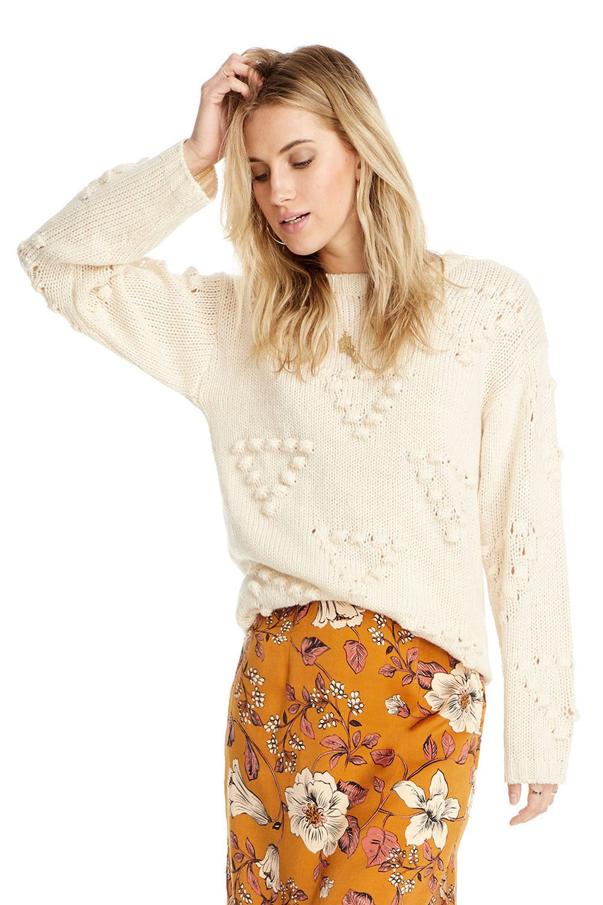 Mykonos Pop Stitch Sweater