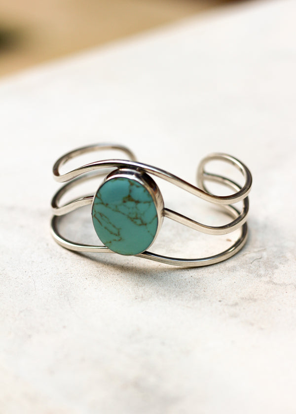 Caribbean Turquoise Bangle