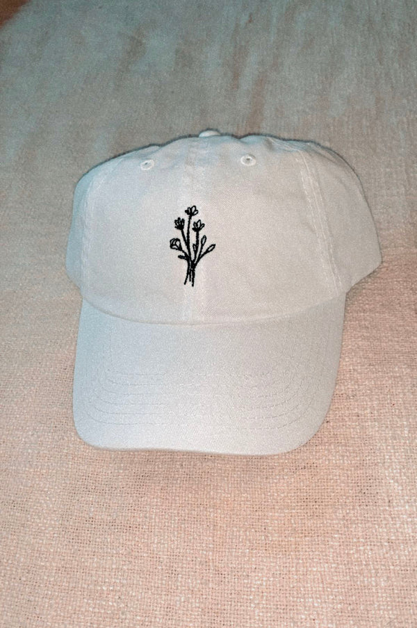 Wildflowers Ball Cap