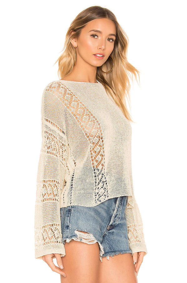 Anita Open Knit Sweater