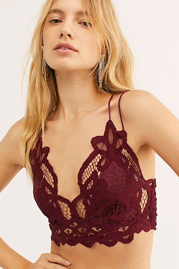Adella Bralette in Berry