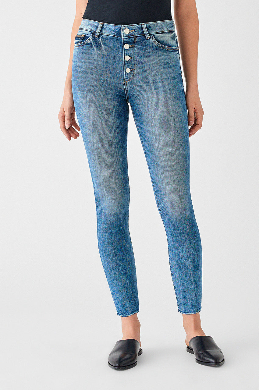 Farrow Ankle: High Rise Skinny