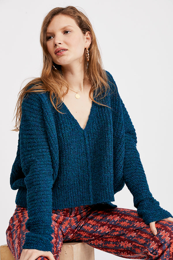 Moonbeam V Neck Sweater