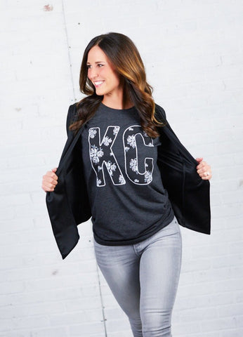 KC Fall Floral Long Sleeved Tee