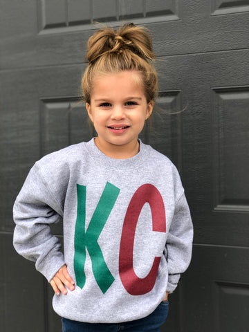 Kid's Holiday KC SWEATSHIRT—FINAL SALE