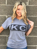Distressed Heather Grey KC Bar — FINAL SALE