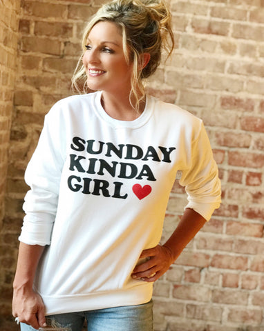 Sunday Kinda Girl — FINAL SALE